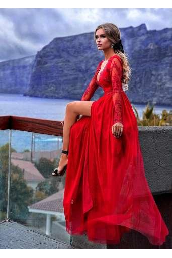 Sukienka EMO Adel czerwona