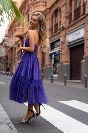 Sukienka EMO LARA fiolet