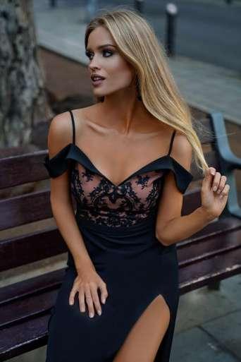 Sukienka EMO Amanda czarna...