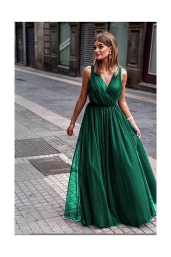 Sukienka EMO AGNES  zielona