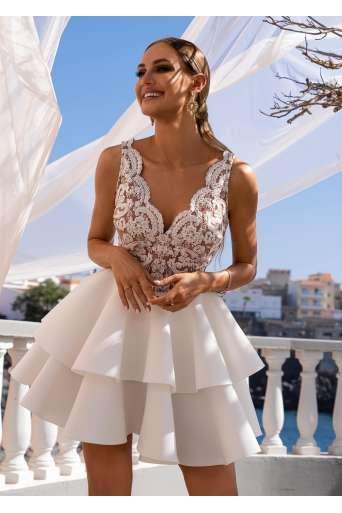 Sukienka EMO ANA biała