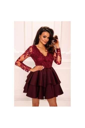 Sukienka EMO LILI burgund