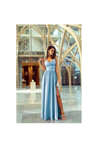 Sukienka  EMO BELLA błękinta