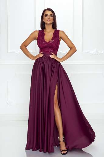 Sukienka EMO JULIETTE śliwka