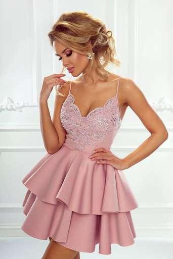 Sukienka EMO LEILA różowa