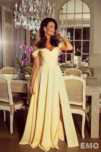 Sukienka EMO ELIZABETH żółta