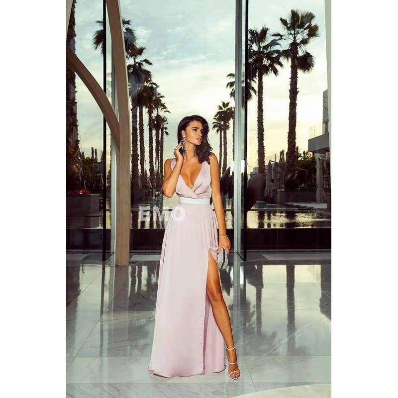fd1010c0ba6f40 Sukienka EMO Stella długa z rozcięciem - sklep online