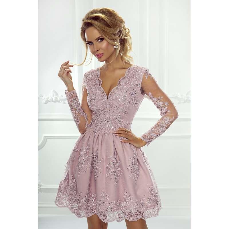 add3696ad2f720 Cudowna krótka sukienka Amelia, cała z pięknej koronki .Producent EMO