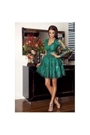 Sukienka EMO AMELIA zielona