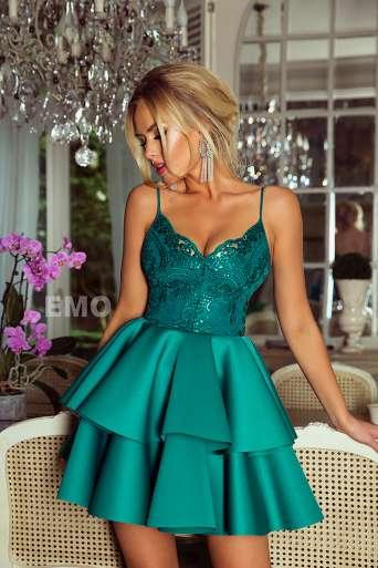 Sukienka EMO LEILA zielona