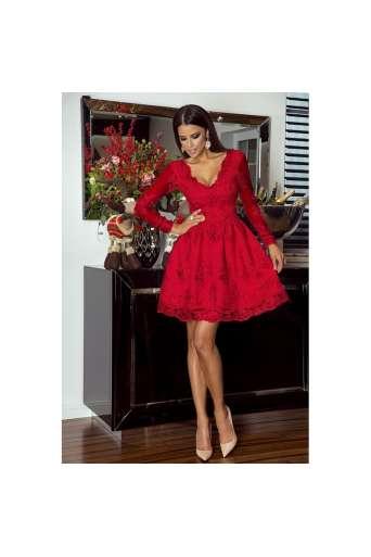 Sukienka EMO AMELIA czerwona