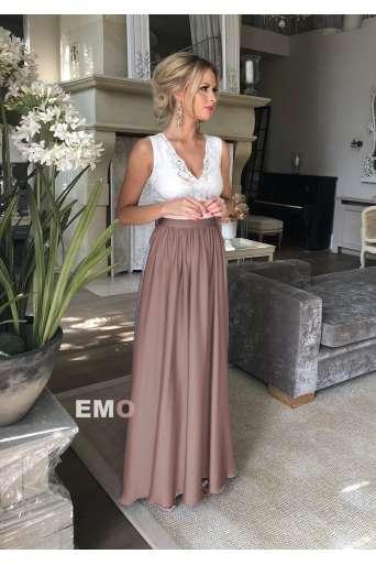 Sukienka EMO JULIETTE beż/...