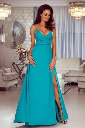 Sukienka EMO Lisa  turkusowa