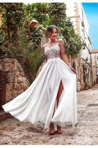 Sukienka  EMO BELLA biała...