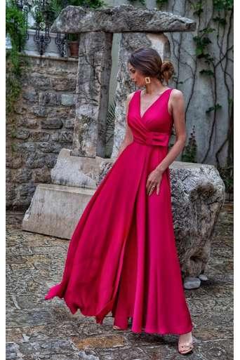 Sukienka EMO Oprah czerwona