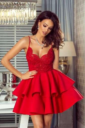 Sukienka EMO LEILA czerwona