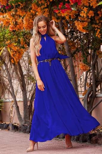 Sukienka EMO Lajla chabrowy